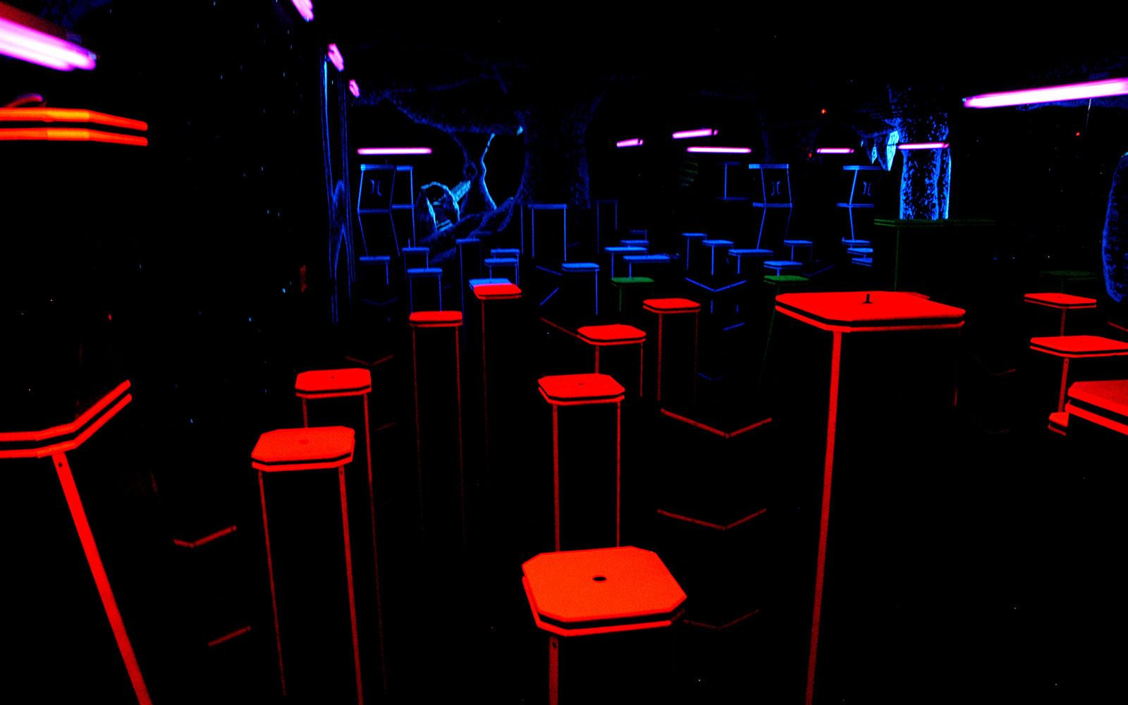 Pin Strikes - Macon Amenities - Laser Tag