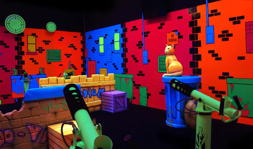 Macon, GA Laser Tag & Arcade - Pin Strike Entertainment Center