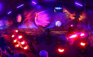 Enjoy Laser Tag in Pin Strikes, Macon