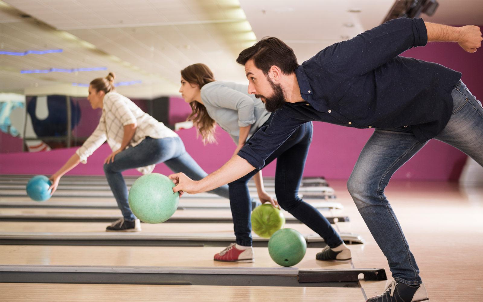 ultra modern bowling alley in macon ga pin strikes